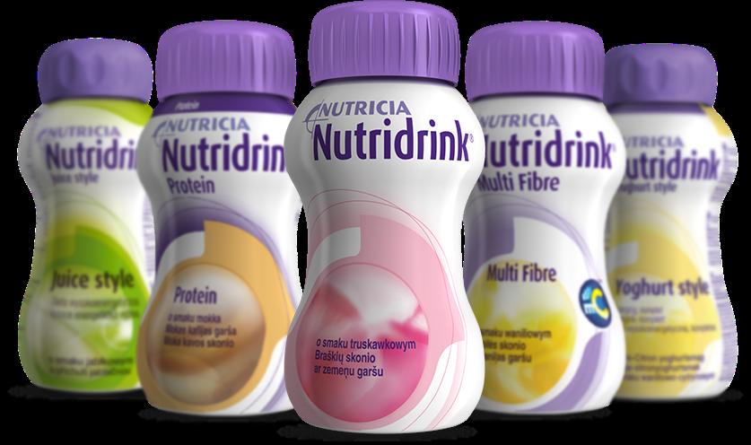 Nutridrink - Dla kogo jest? - komplet składników odżywczych